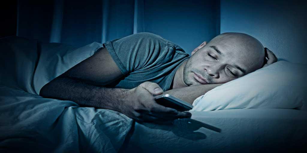 how technology effects sleep