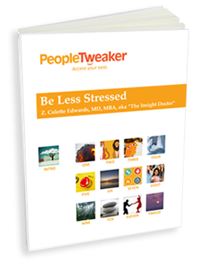 PeopleTweaker Be Less Stressed book cover
