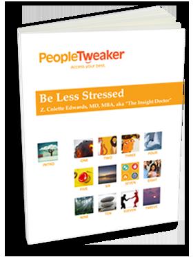 PeopleTweaker Be Less Stressed book cover