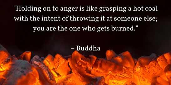 anger buddha quote
