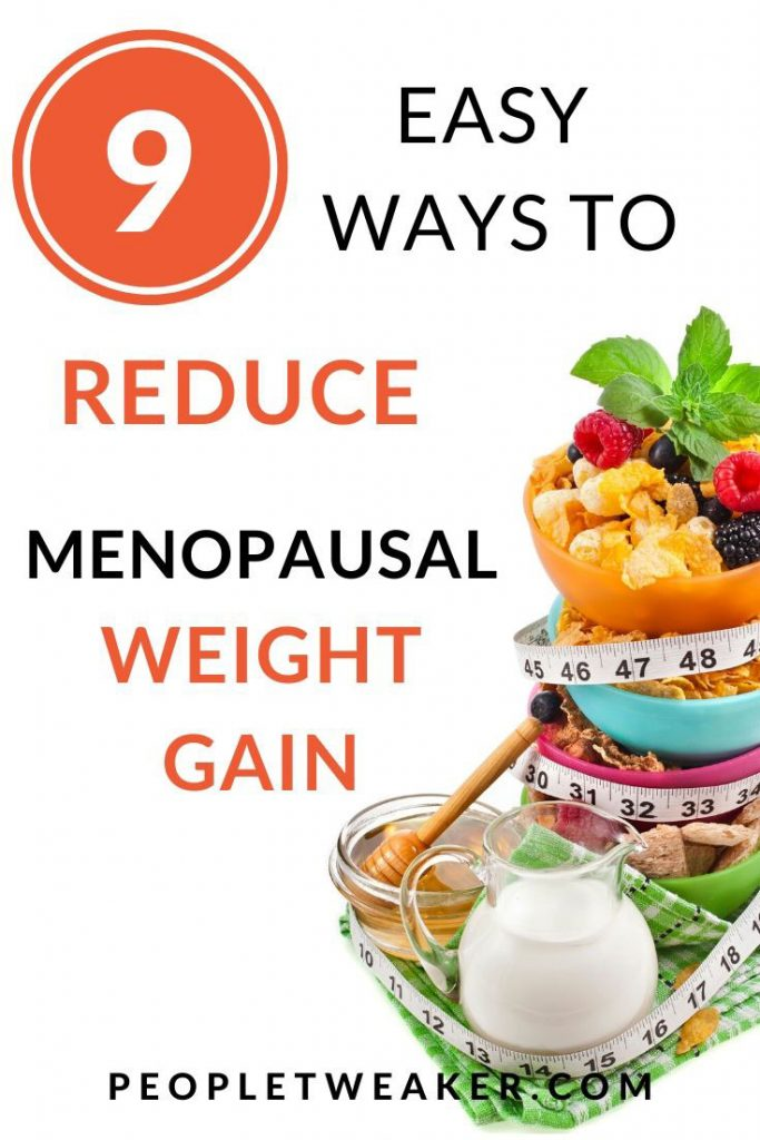 9 ways to reduce menopausal weight gain