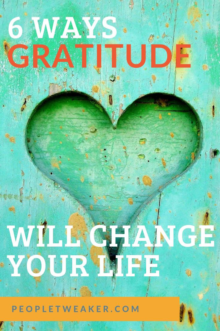 how gratitude will change your life