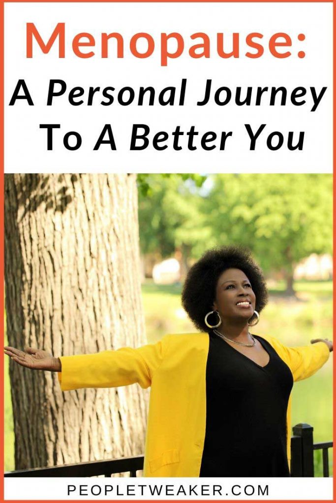 menopause a personal journey to a better you