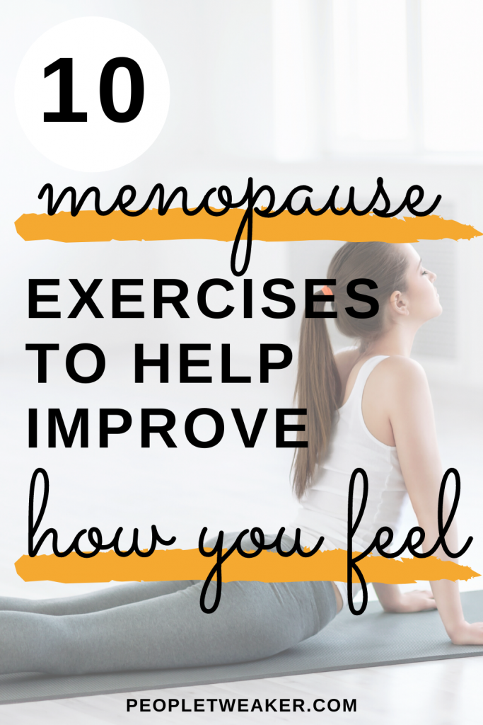 10 menopausal exercises to help improve how you feel
