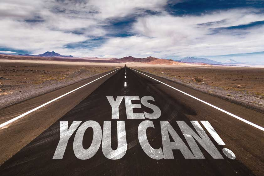 The Power of Positive Thinking: Yes You Can